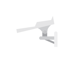 Video security camera illustration
