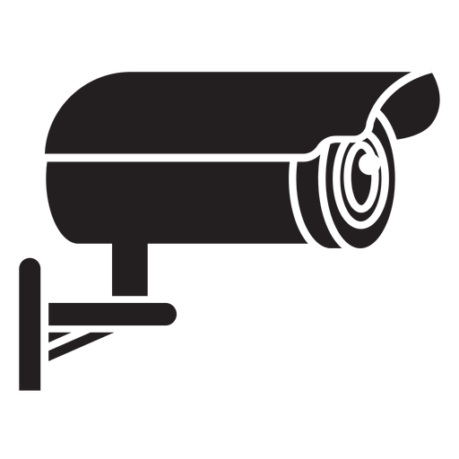 Video surveillance camera flat icon Transparent PNG