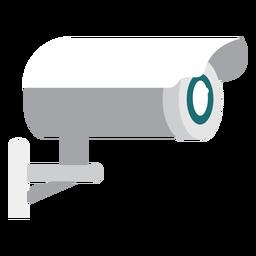 Ilustração de câmera de vigilância por vídeo