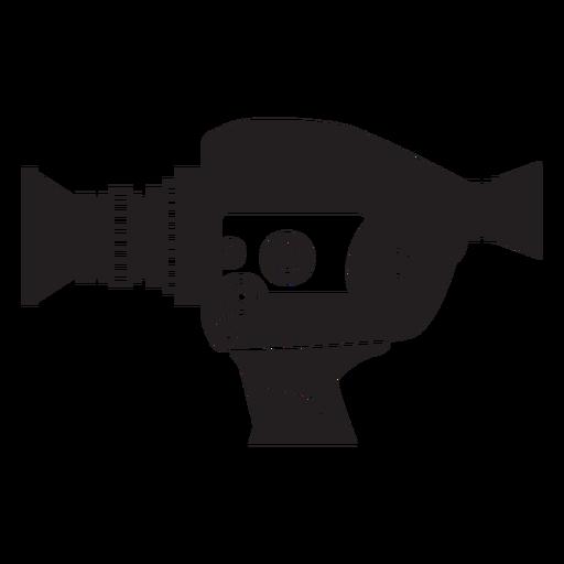 Icono de cámara de película vintage Transparent PNG