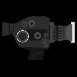 Ilustración de cámara de película vintage