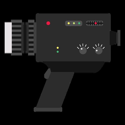 Ilustración de cámara de vídeo vintage Transparent PNG