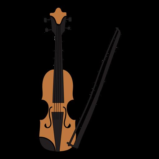 Doodle de instrumento musical de violino Transparent PNG