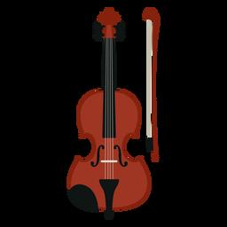Icono de instrumento musical de violín