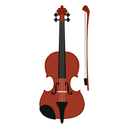 Violin musical instrument icon