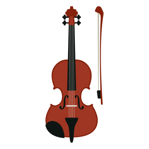 Violin musical instrument icon Transparent PNG