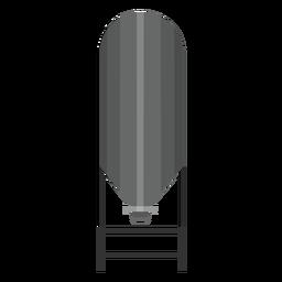 Icono de almacenamiento de tanque de agua
