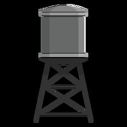 Icono de la torre de agua