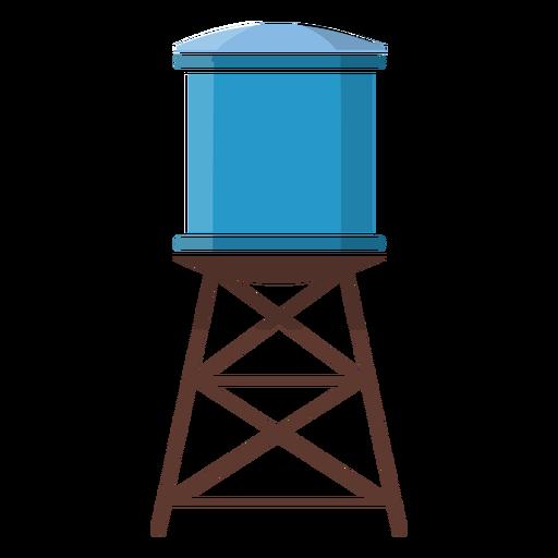 Ilustraci?n de la torre de agua