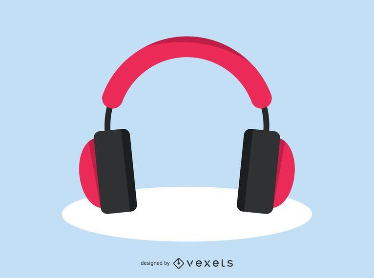 Headphones audio icon