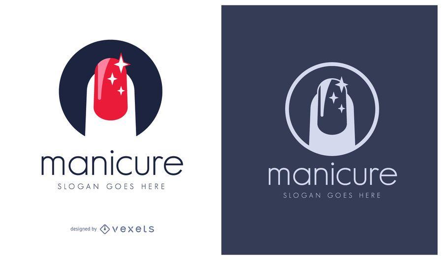 Logo de manicure cosmetics