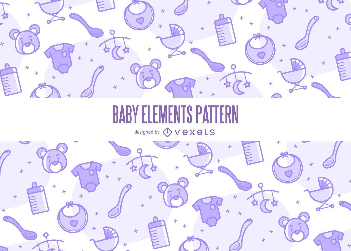 Baby elements pattern