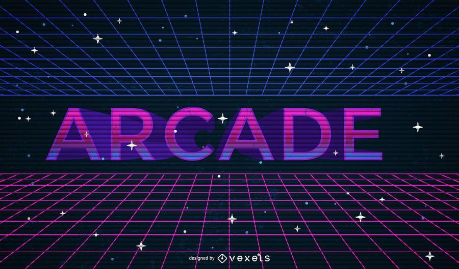 Geometrische Arcade-Darstellung