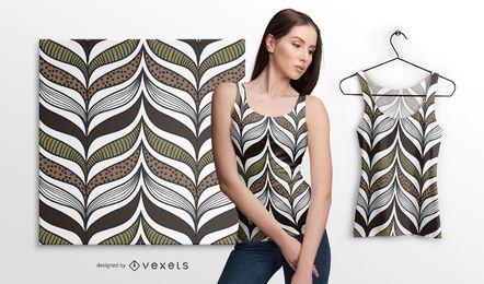 Elegantes afrikanisches Muster