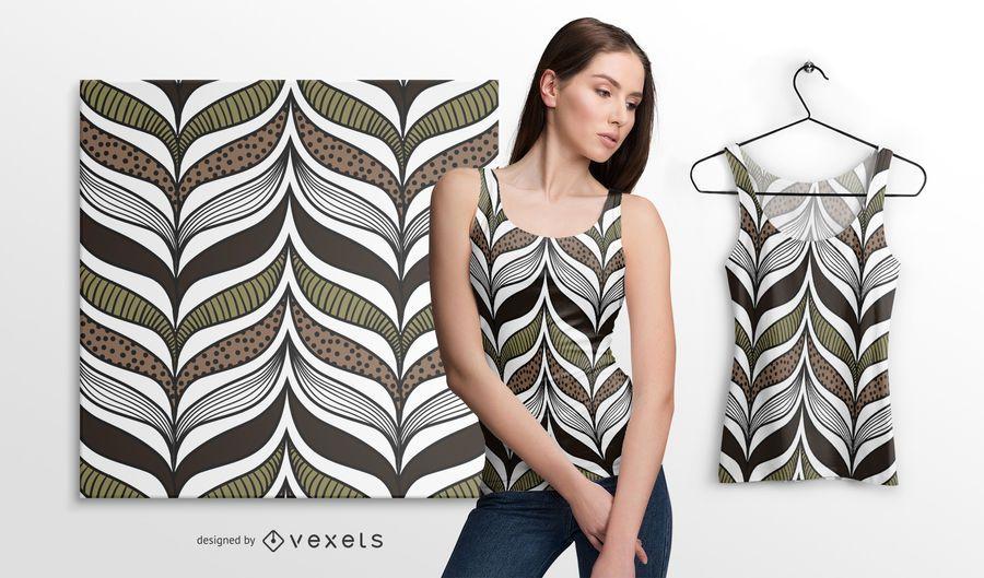 Elegante padrão africano