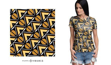 Schönes afrikanisches Muster