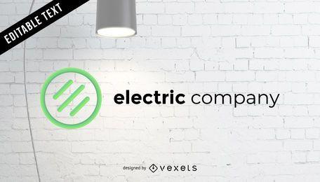 Logotipo da empresa elétrica