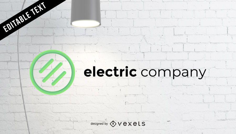 Logotipo de la empresa eléctrica
