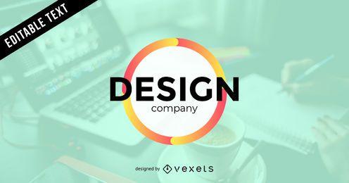 Logotipo da empresa de design