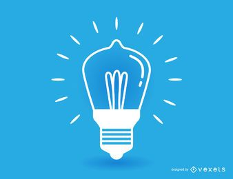 Stroke light bulb illustration
