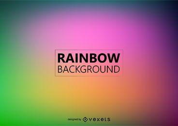 Fondo de arco iris borroso