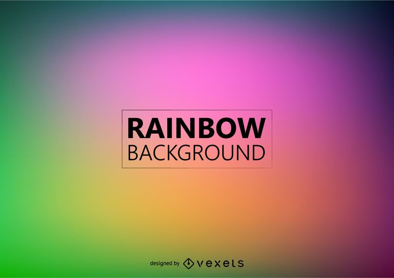 Blurred rainbow background