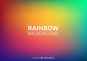 Fundo desfocado das cores do arco-íris