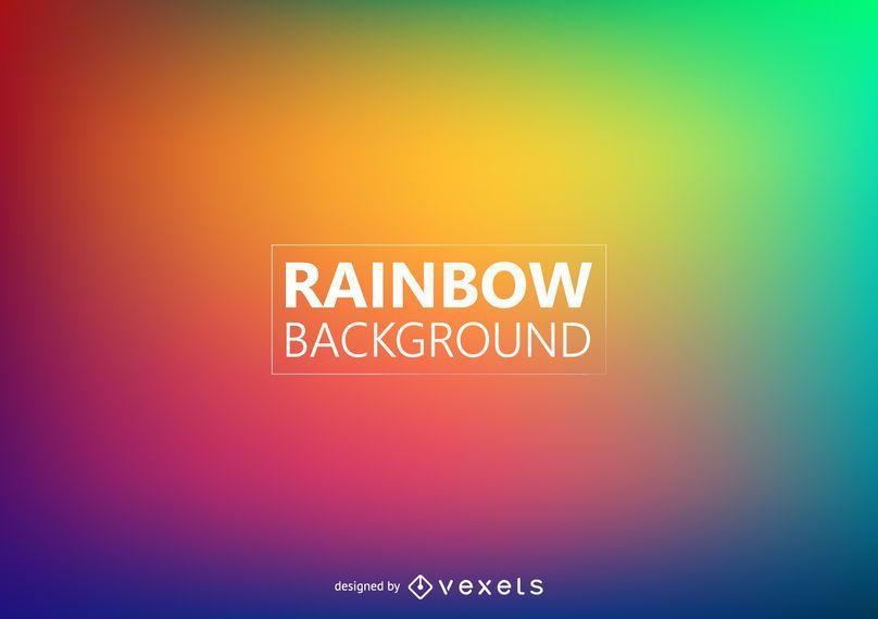 Fondo de colores borrosos del arco iris