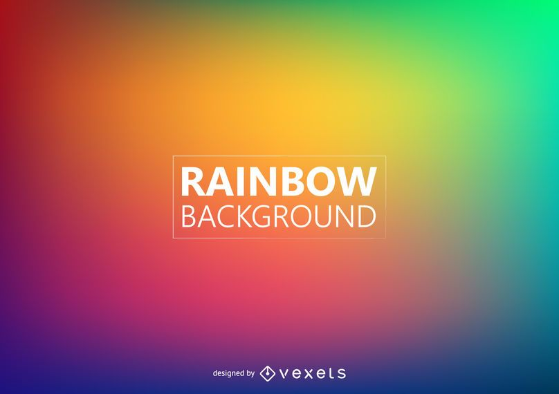 Fundo de cores do arco-íris turva