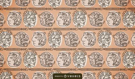 Patrón maya nativo