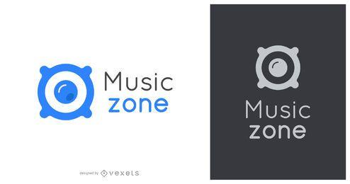 Logotipo da zona musical