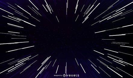 Vetor de luz starburst