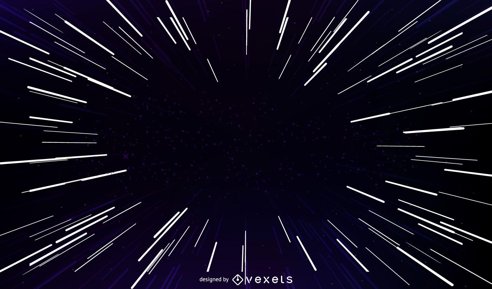 Starburst light vector