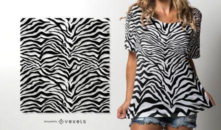 Zebra-Hautmuster
