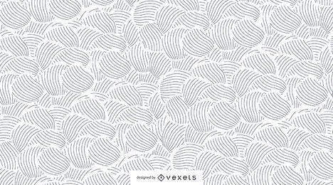 Nahtloses Muster der abstrakten Linien