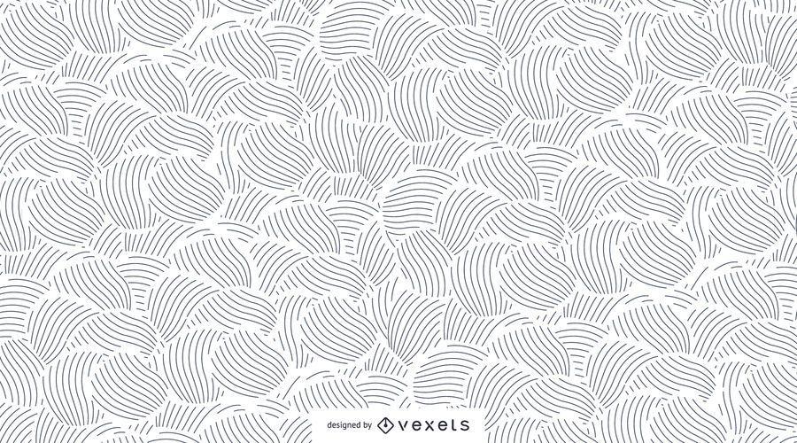 Abstrakte Linien nahtlose Muster