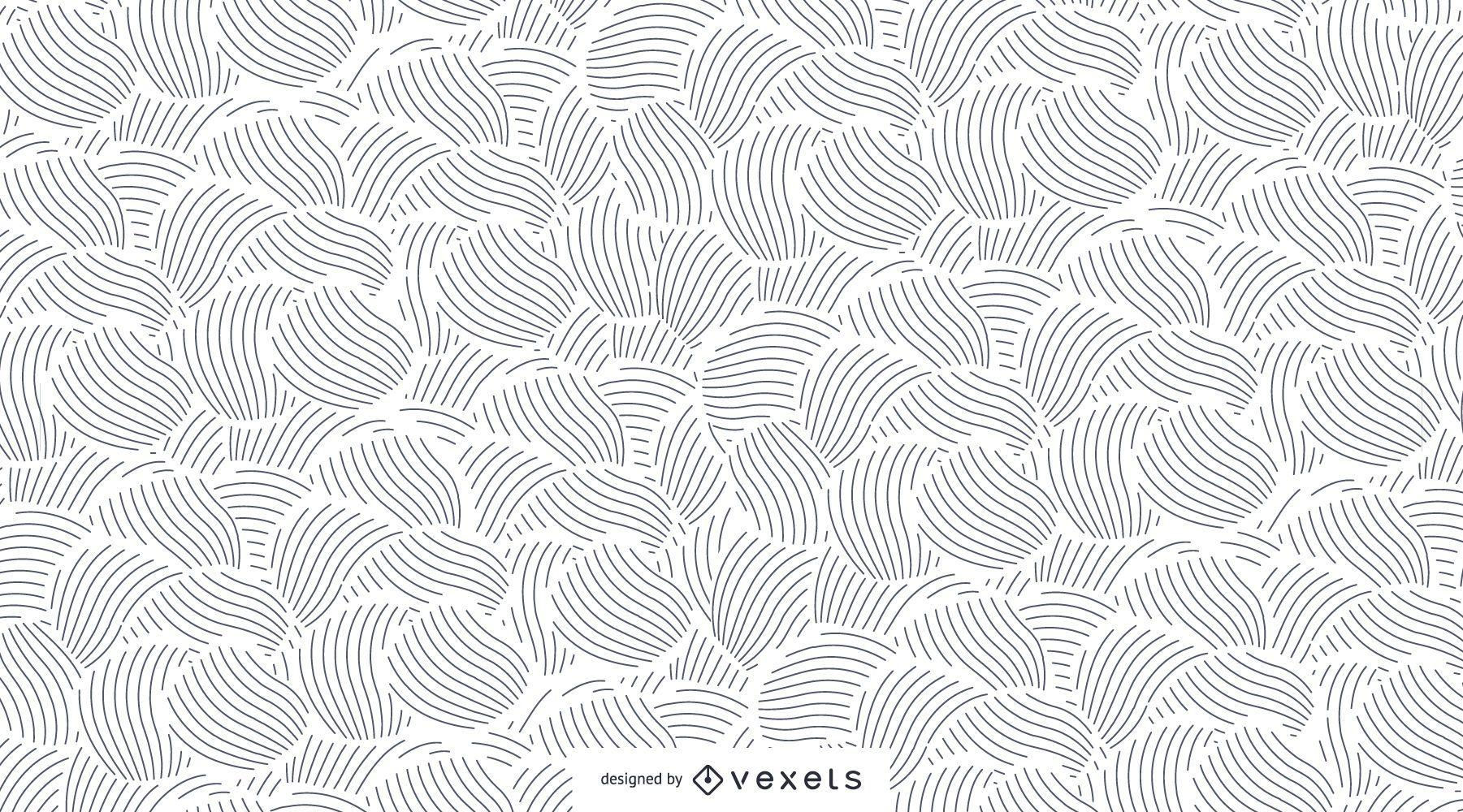 Patrón transparente de líneas abstractas