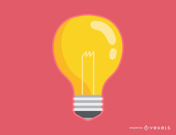 Desenhos animados de lâmpada