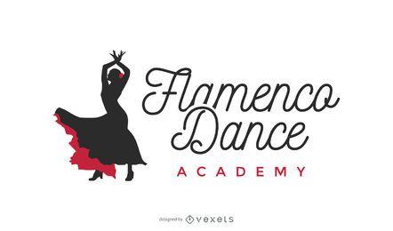 Logotipo de baile flamenco
