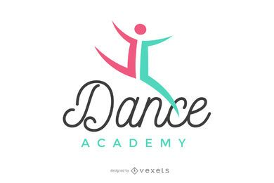 Logotipo da academia de dança