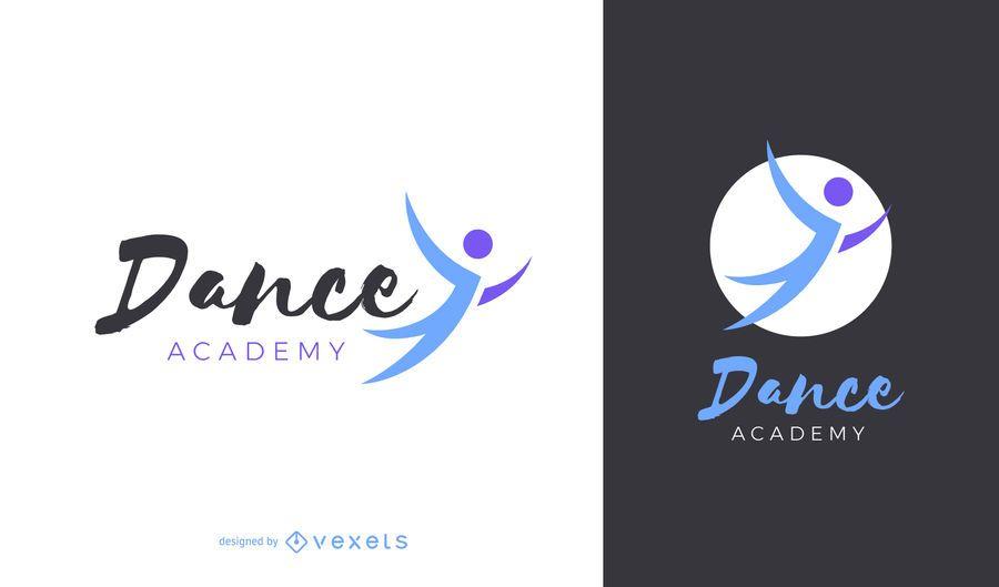 Dance academy logo design