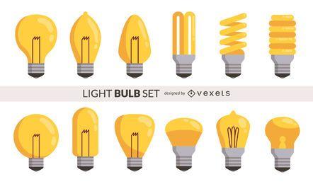 Conjunto de lâmpada