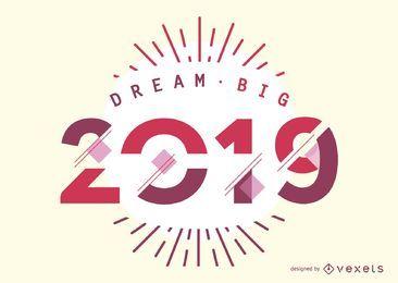 2019 soñar en grande diseño