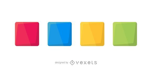 Colorful squares set