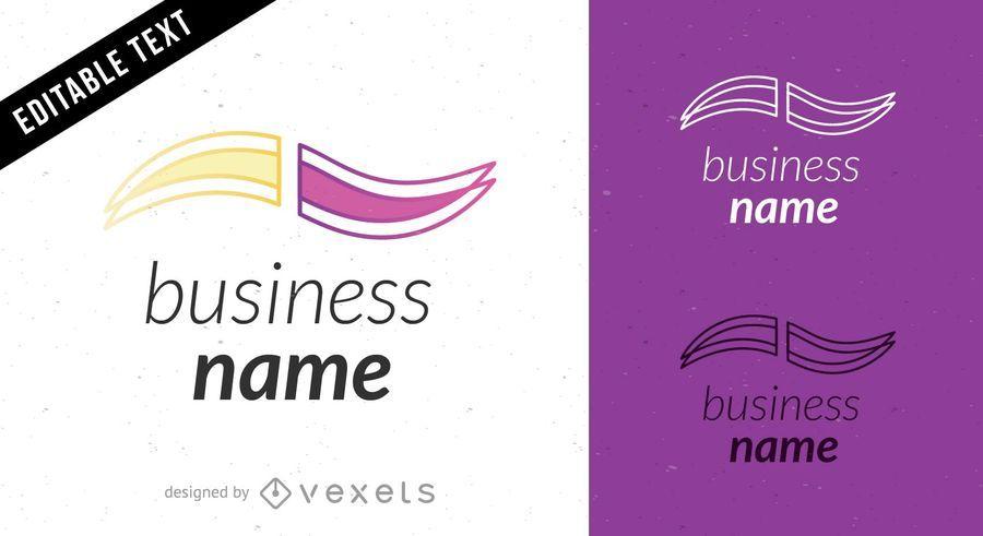 Plantilla de diseño de logotipo vectorial