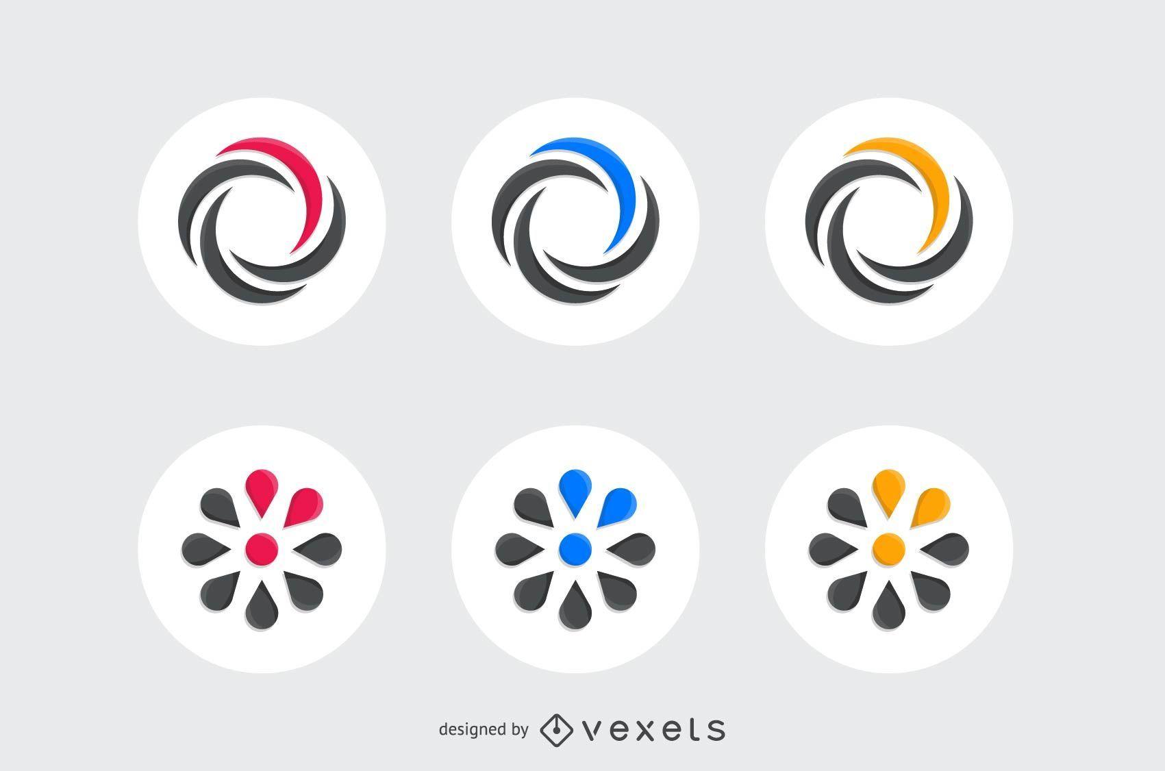 Kit de elementos de design de logotipo