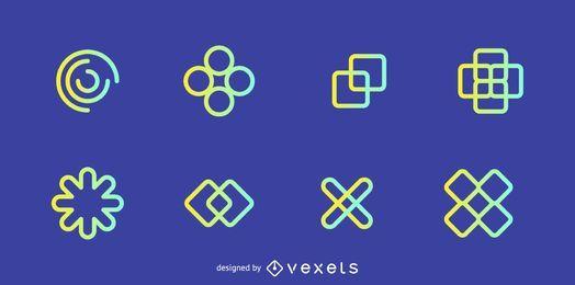 Elementos de design de logotipo