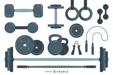 Gewichtheben Elemente