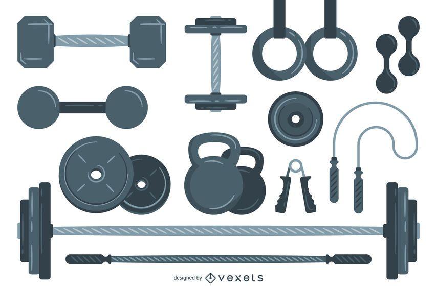 Elementos de levantamiento de pesas