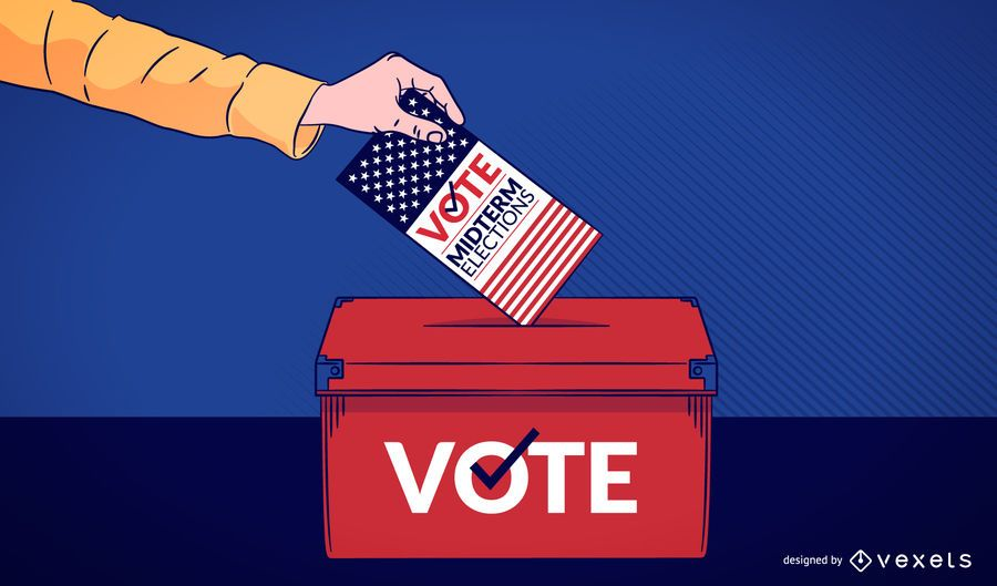 Ilustración de voto de casting